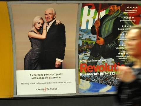'Sexist' advert showing old man and young woman will be taken down after backlash