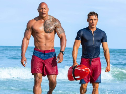 Dwayne Johnson 'takes L on the chin' as he responds to Baywatch Razzie Awards win