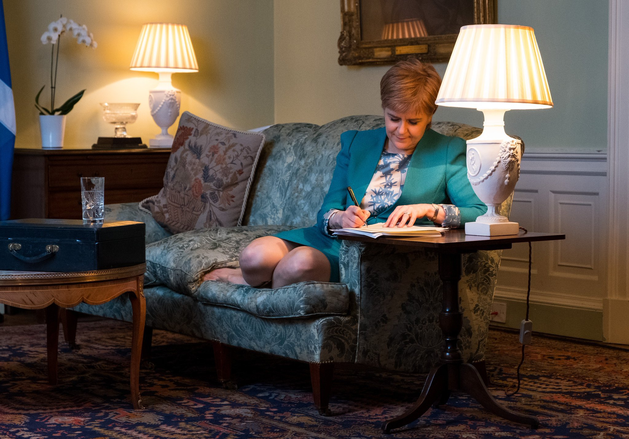 Nicola Sturgeon writes letter requesting Scottish referendum