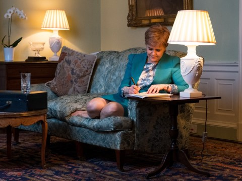 Nicola Sturgeon writes letter requesting Scottish referendum