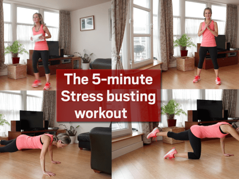 And breeeathe: The 5-minutestress-busting workout