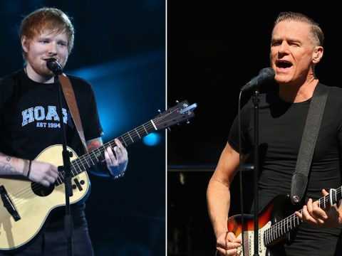 Ed Sheeran's Shape Of You could steal a 26-year music record set by Bryan Adams