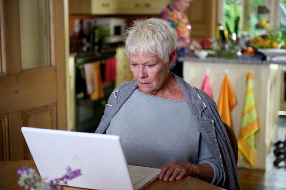Watch Judi Dench and Tom Hiddleston in a short comedy film about online dating