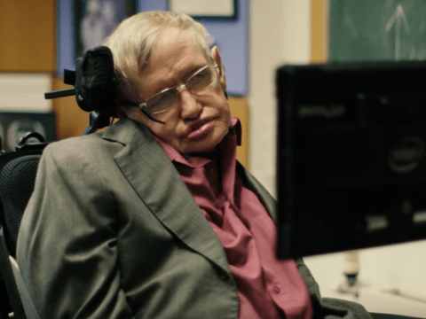 Watch Stephen Hawking look for a new voice in Comic Relief sketch and Liam Neeson and Rebel Wilson are contenders