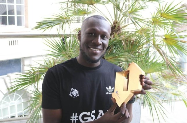 Congrats, Stormzy (Picture: Official Chart Company)