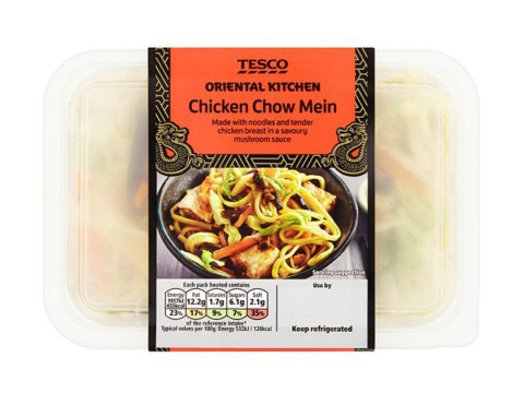 Tesco ready meal and Lindt Easter eggs recalled over allergens