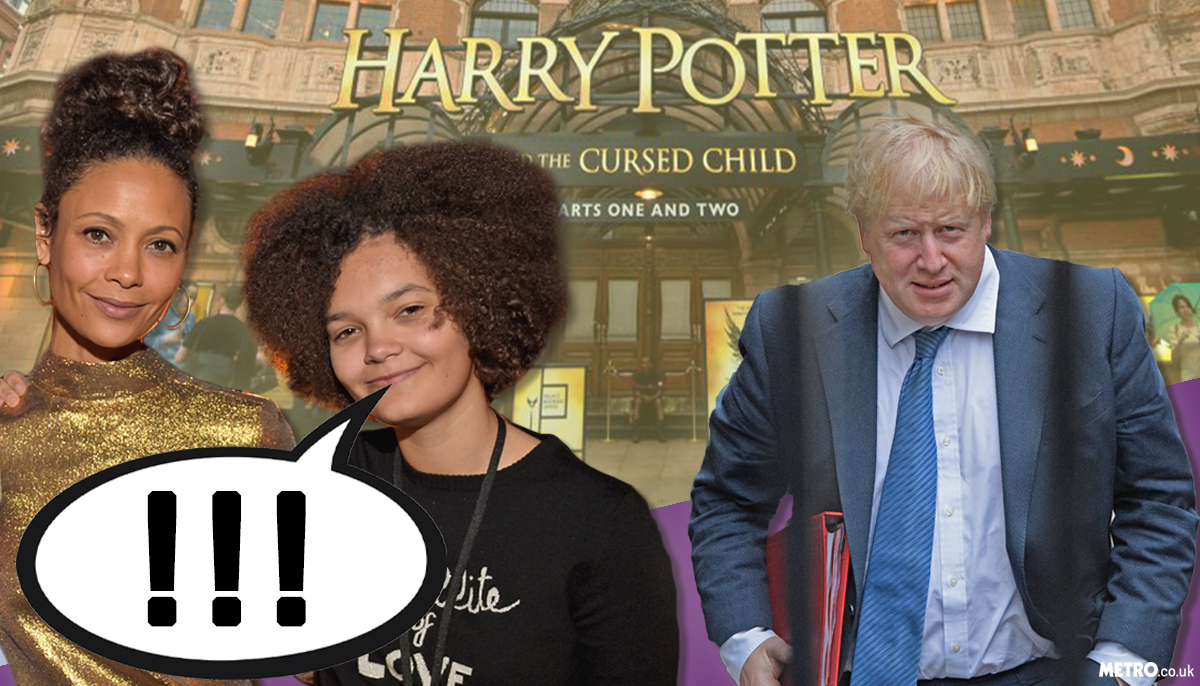 Thandie Newton's daughter told Boris Johnson he was a 'c**t' and the internet found its new hero
