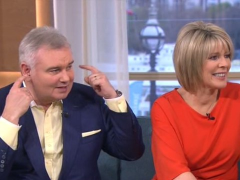 will.i.am wore sunglasses and earphones on This Morning and Eamonn Holmes couldn't believe it