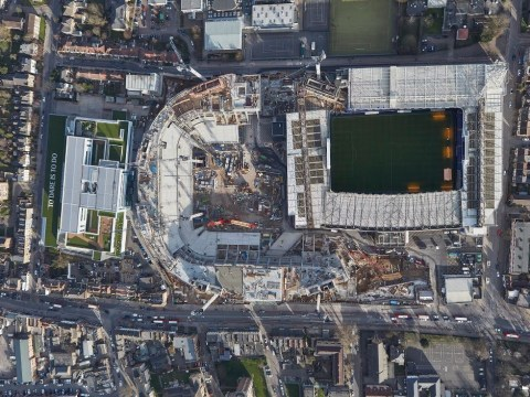 On the day Chelsea get stadium permission, Tottenham point out how near their own is to completion