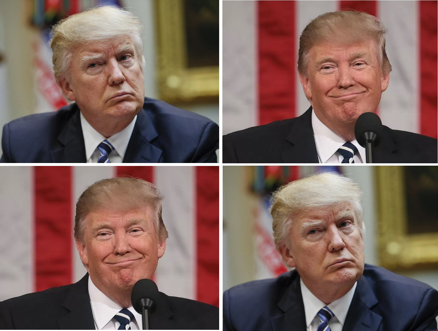 Trump, the most divisive US president of all time (Picture: AP/Metro.co.uk)