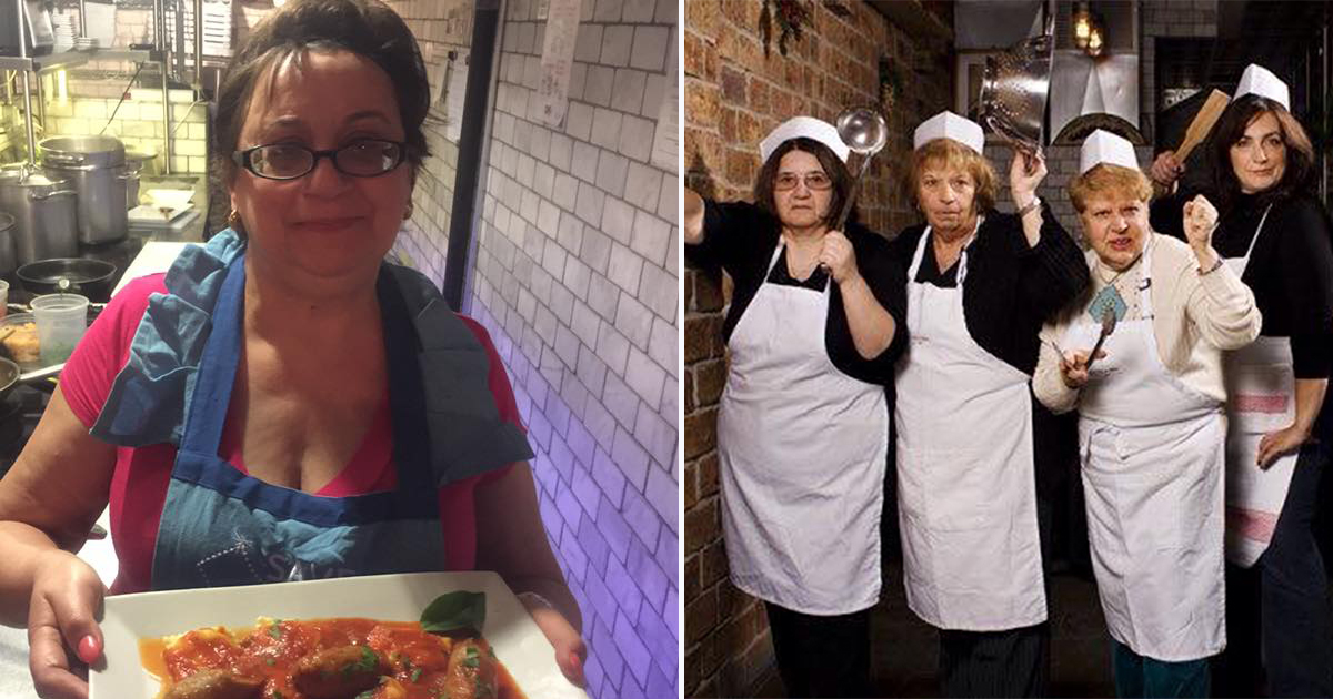 Please take us to this restaurant run entirely by grandmothers