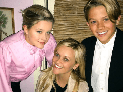 Reese Witherspoon's children look exactly like her in birthday snap