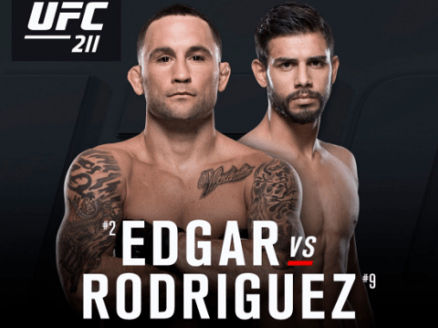 Hot prospect Yair Rodriguez to take on former featherweight king Frankie Edgar at UFC 211