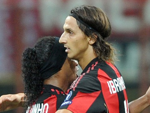 Ronaldinho sends classy message to Zlatan Ibrahimovic after career-threatening knee injury