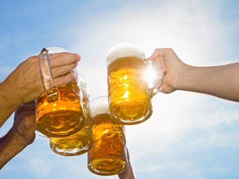 Two pints of beer is more effective pain relief than paracetamol, apparently