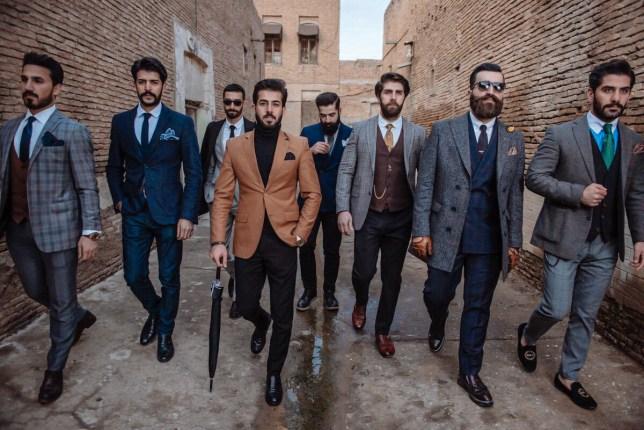 Mr Erbil men fashion shoot