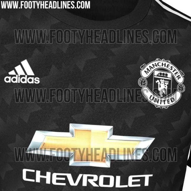 sports shoes aa469 f3fe5 Manchester United news: 2017/18 black away kit leak   Metro News