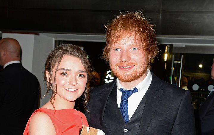 Ed Sheeran admits Game of Thrones scene with Arya Stark isn't 'exciting'