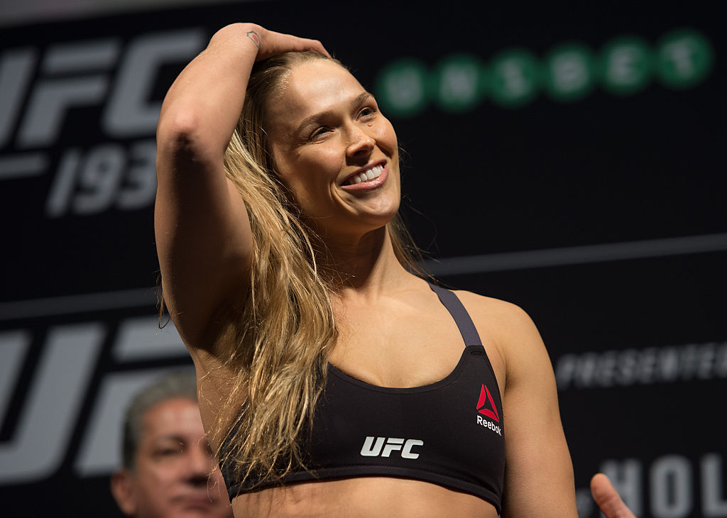 Dana White admits he does not think Ronda Rousey will be returning to the UFC