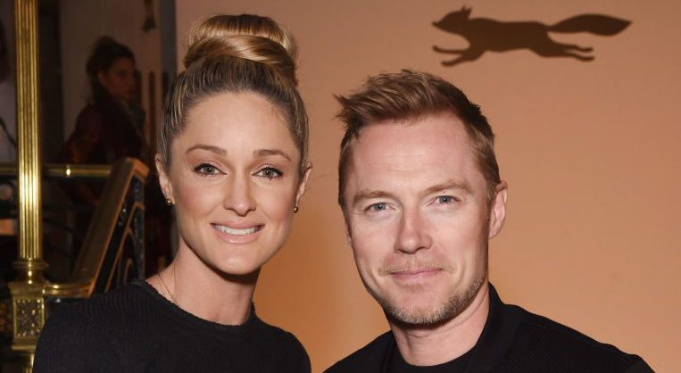 Ronan Keating reveals the name of his new baby – and it is super long