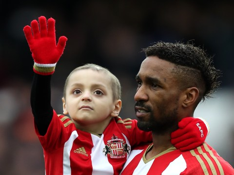 Bradley Lowery's mum reveals he's in 'horrendous pain' and won't be mascot tonight