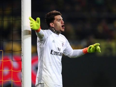 Arsenal eye transfer swoop for Benfica goalkeeper Ederson