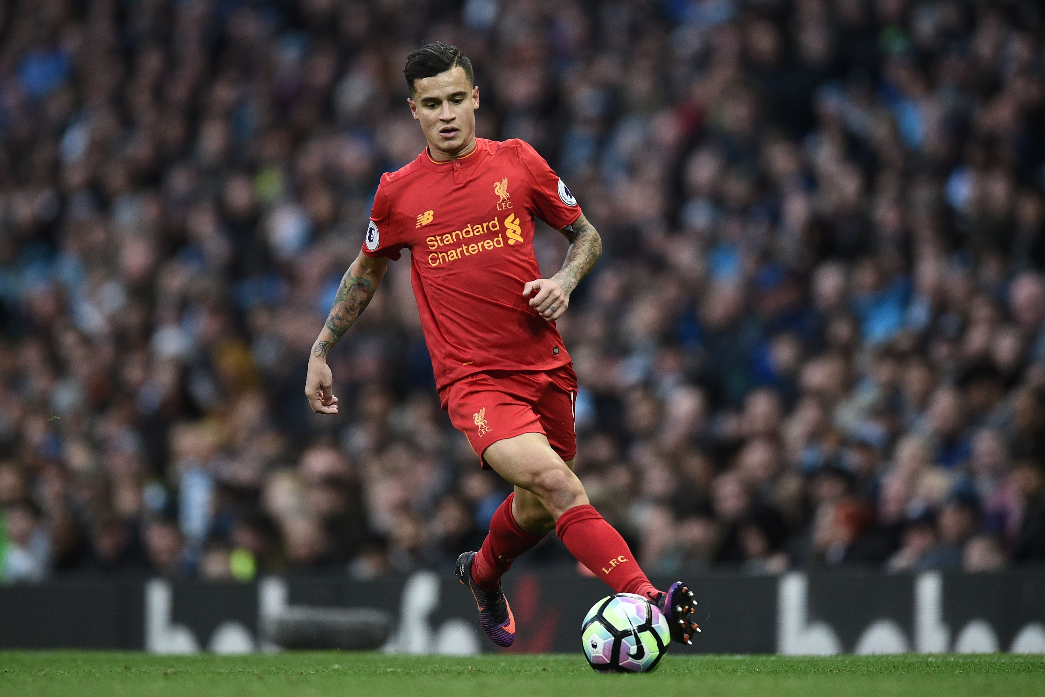 Stoke City v Liverpool team news: Philippe Coutinho named on bench after illness fears