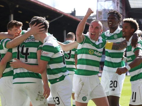 Celtic within reach of historic unbeaten season after being crowned Scottish Premiership champions