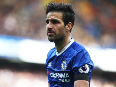 Antonio Conte sends stern message to Cesc Fabregas after Manchester United transfer link
