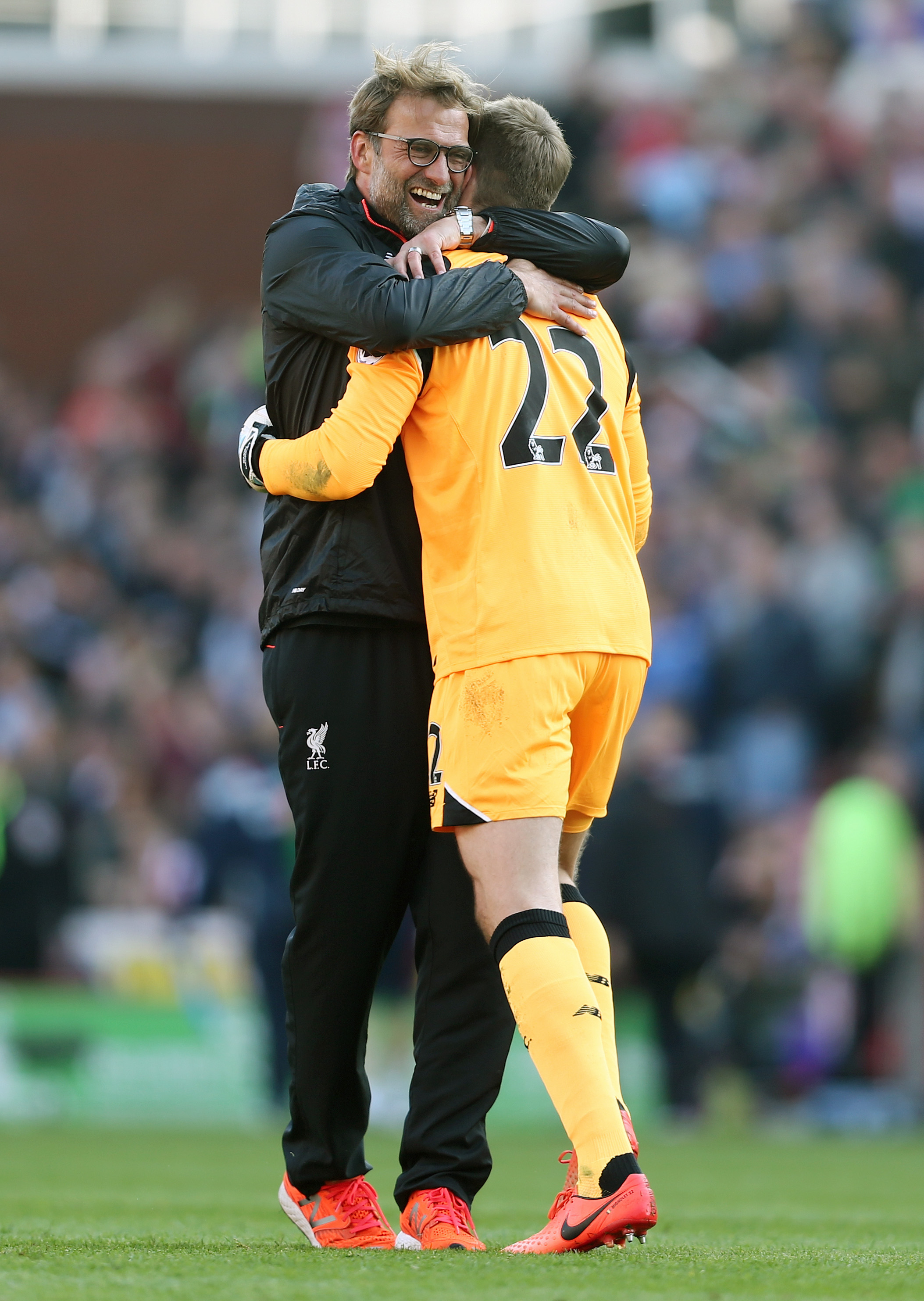 Simon Mignolet reveals what Jurgen Klopp said to him after Stoke heroics