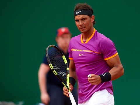 Rafael Nadal teaches Alexander Zverev a lesson on his birthday at the Monte-Carlo Masters
