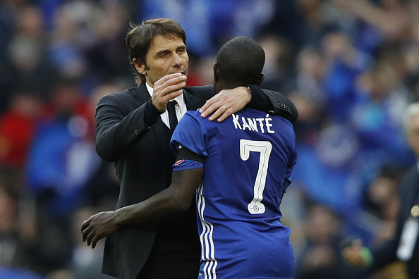 N'Golo Kante told he must keep improving by Antonio Conte, despite just winning PFA Player of the Year