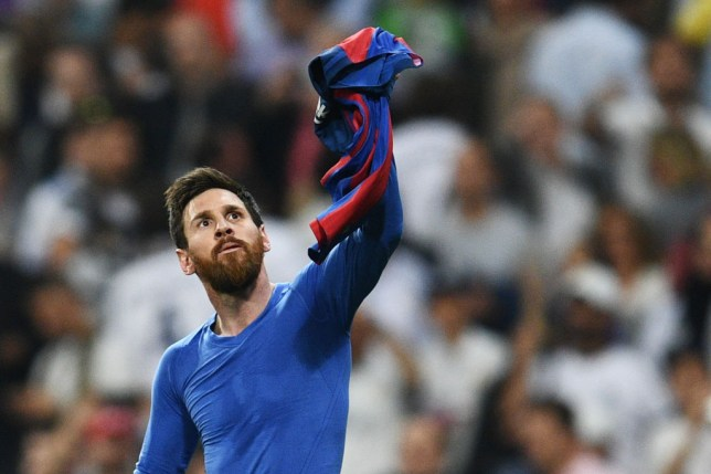 size 40 53eca 135d8 Real Madrid v Barcelona: Lionel Messi taunts Real Madrid and ...
