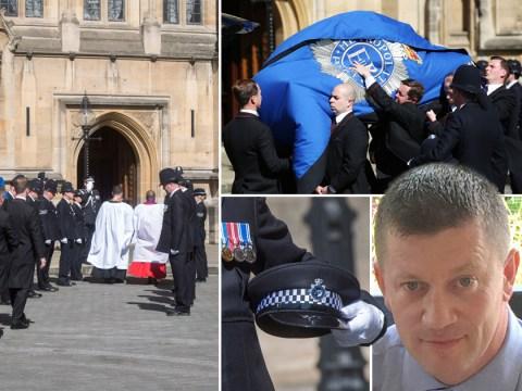 Murdered officer PC Keith Palmer lies in rest ahead of police funeral