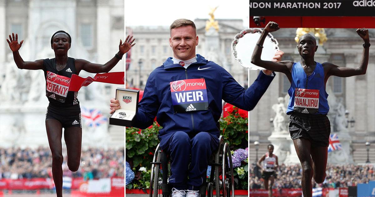 Paula Radcliffe's record beaten by 41 seconds at London Marathon