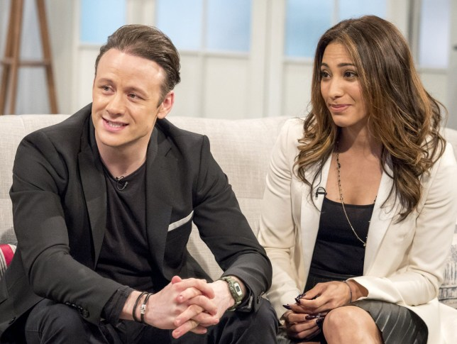 EDITORIAL USE ONLY. NO MERCHANDISING Mandatory Credit: Photo by Ken McKay/ITV/REX/Shutterstock (8570409am) Kevin and Karen Clifton 'Lorraine' TV show, London, UK - 05 Apr 2017 Strictly's dancing duo are taking their special brand of sequins and sparkles on the road for a new tour!