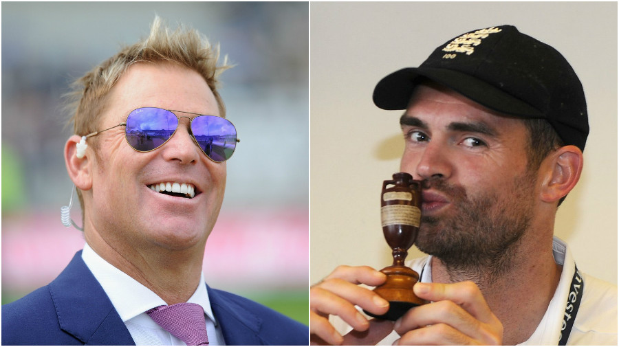 Australia legend Shane Warne and England star Jimmy Anderson name the best batsmen they came up against