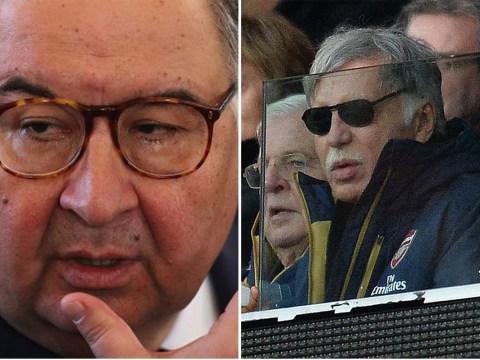 Arsenal shareholder Alisher Usmanov blames Stan Kroenke for current problems