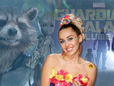 Miley Cyrus has secretly filmed a cameo for Guardians of the Galaxy 2