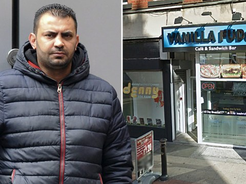 Refugee who fled racism in Palestine hurled racist abuse at takeaway staff