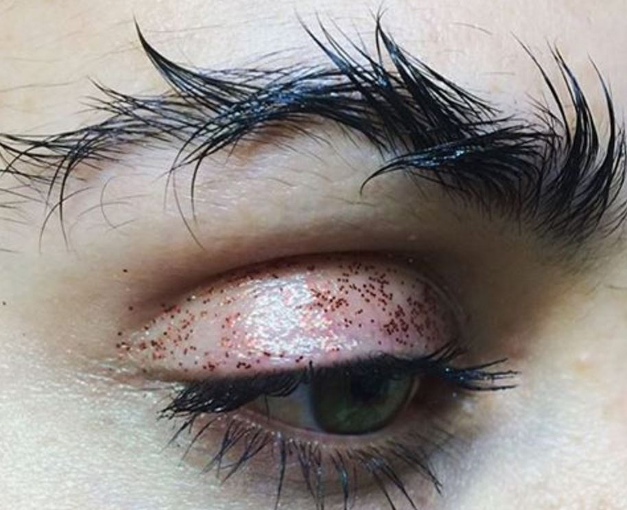 barbed wire eyebrows