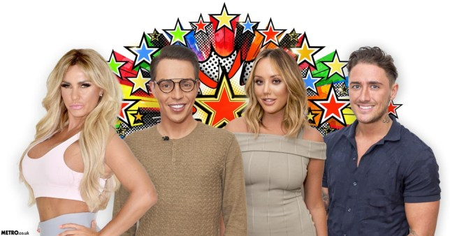 Who will be taking part in the next series of Celebrity Big Brother?(Picture: Channel 5/Rex/Metro.co.uk)