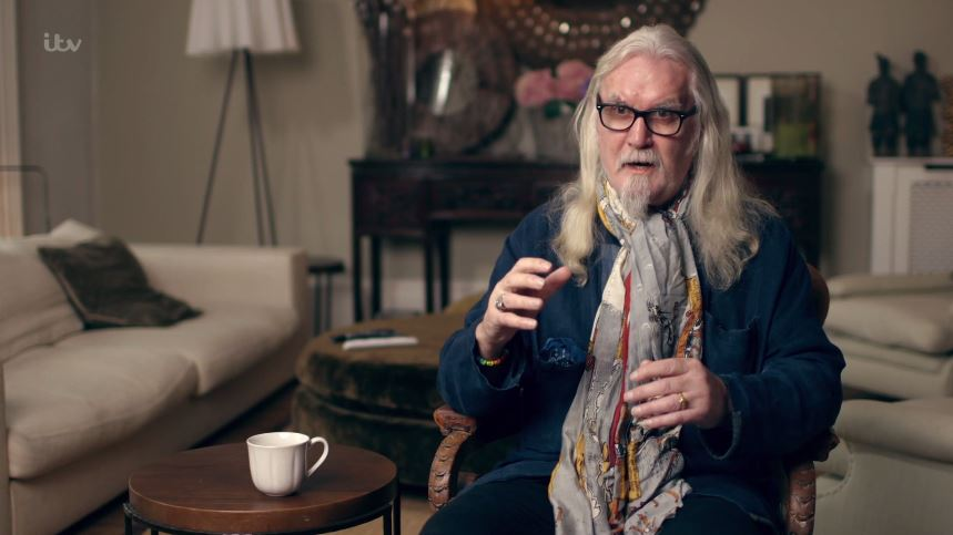 Billy Connolly & Me: A Celebration was a hilarious reminder of his 'comedy legend' status