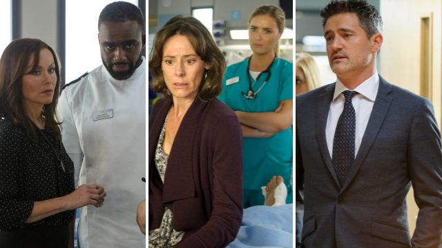 Hostage horror, job cuts and 8 other big Casualty spoilers