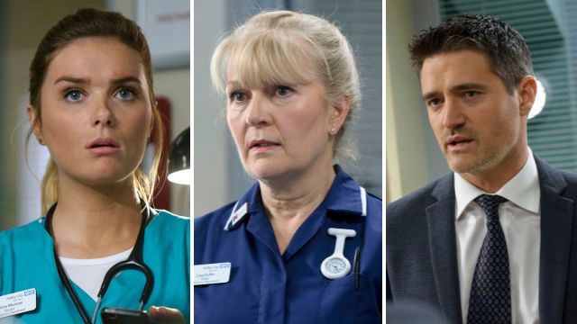 A huge shock for Elle, a devastating fire tragedy and 8 more Casualty spoilers revealed
