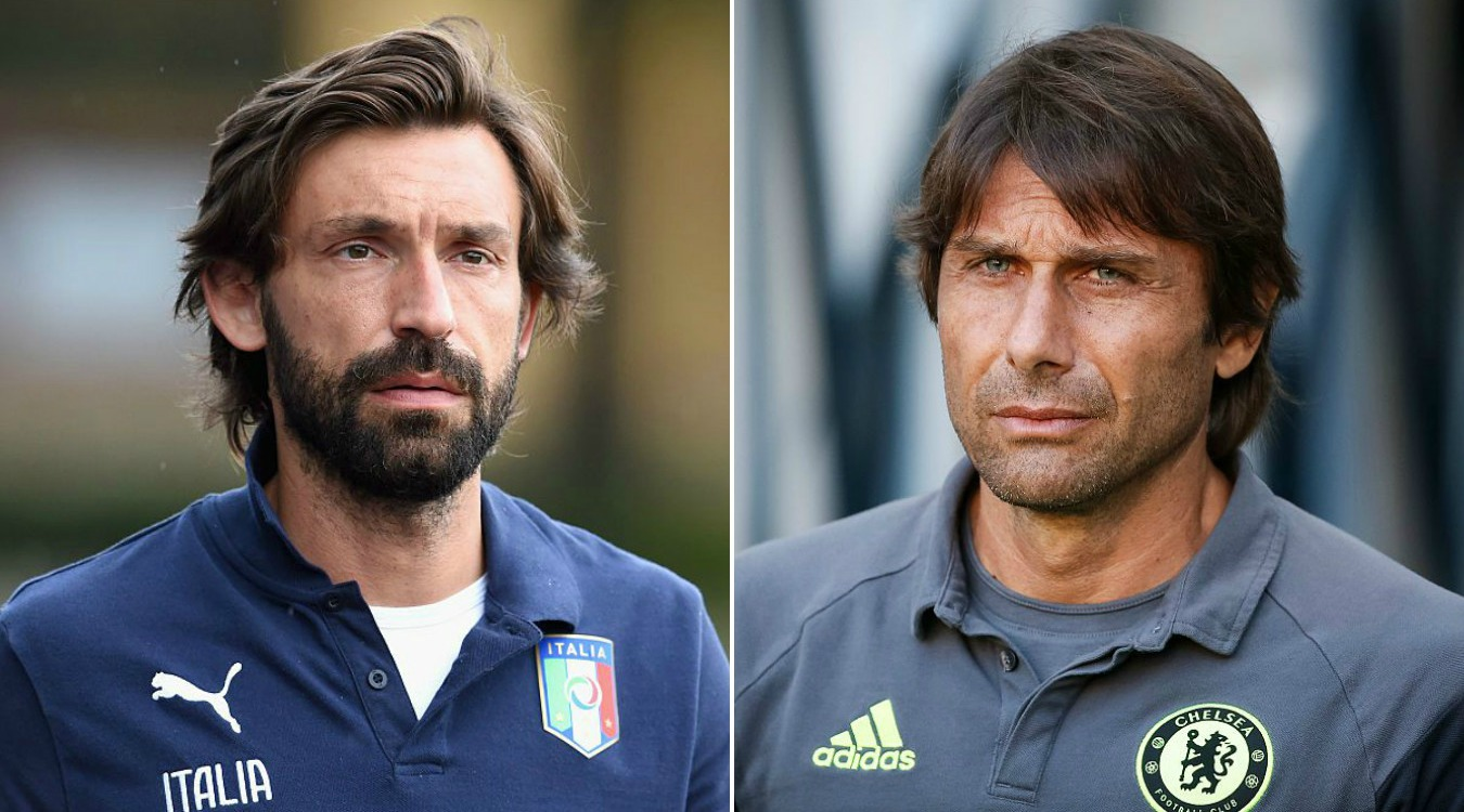 Antonio Conte wants Andrea Pirlo as Chelsea's assistant first-team coach, claims Ray Wilkins