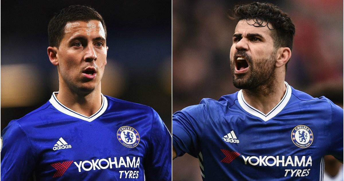 Chelsea transfer news: Diego Costa issues Eden Hazard ...