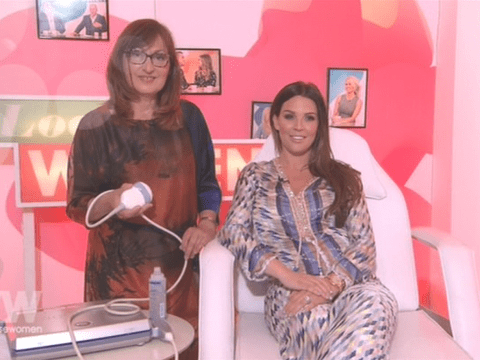 It's a boy! Danielle Lloyd finds out sex of baby live on Loose Women