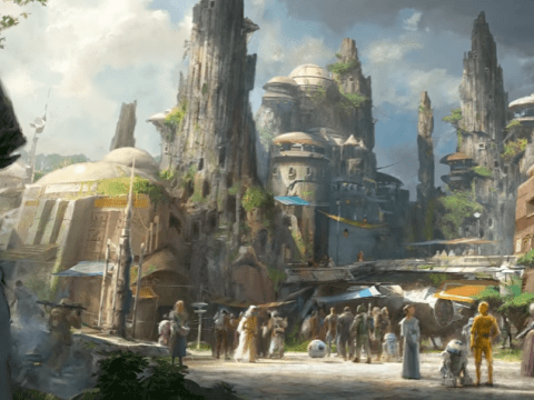 Disney teases Star Wars Land is coming in 2019 and we're not sure we can wait that long