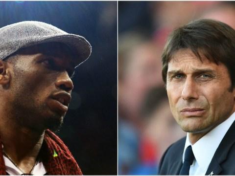 Antonio Conte responds to Didier Drogba's claim about Chelsea target Romelu Lukaku